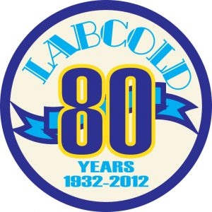 Labcold80yearslogo